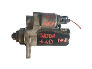 02Z911023F MOTORINO AVVIAMENTO VW POLO IV (9n) 1.4 TDI 51 KW 69 Cv 2005-2009