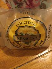 L'Occitane Savon d'Bain Mimosa. Bath Soap Mimosa. 50g. Rare. Discontinued.