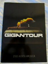 MEGADETH 2005 Gigantour Concert Tour Program Book!!! SIGNED by ALL band MUSTAINE