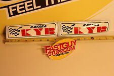 Kayaba KYB decal stickers Autocross Acura Skyline Supra JDM Old school Vintage