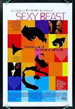SEXY BEAST * CineMasterpieces 1SH ORIGINAL DS NM-MINT UNUSED MOVIE POSTER 2000