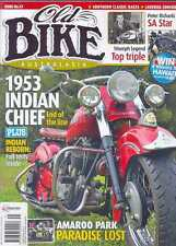 OLD BIKE AUSTRALASIA No.41 - Indian Chief,Triumph Legend,Dunlop Rally,(NEW COPY)