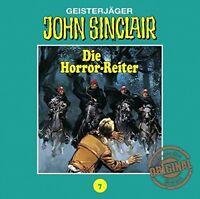 JOHN SINCLAIR/TONSTUDIO BRAUN - FOLGE 07: DIE HORROR-REITER  CD NEW