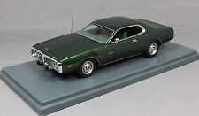 Neo Models Dodge Charger in Green Metallic 1973 44751 1/43 NEW Resin