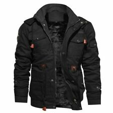 Thick Winter Fleece Jackets Men Military Tactical Army Jacket Hooded Masculina