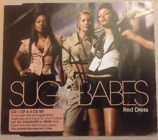 HEIDI RANGE SUGABABES SIGNED RED DRESS CD SINGLE POP MUSIC AUTOGRAPH