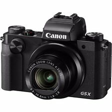 Brand New Canon Power Shot G5X  Black Digital Camera