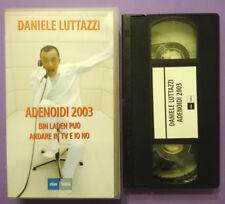 VHS FILM Ita Commedia ADENOIDI 2003 Bin Laden Puo'Andare In Tv E Io No no dvd(V0