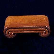 1 set 3pcs hard Wood Stand of Netsuke,Snuff bottle,Carving Display