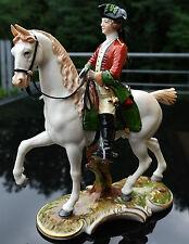 Nymphenburg Figur Jagdreiter , rote Jagd , makelloser Zustand , Topzustand !!