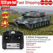 Heng Long 3889-1 1/16 Scale 2.4GHz RC Simulation Model Leopard 2 A6 RC Tank ☆