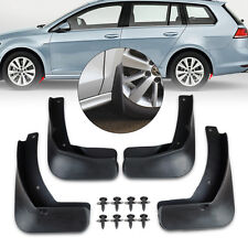 New Front & Rear MUD FLAPS FLAP SPLASH GUARDS MUDGUARD for VW GOLF MK7 2013 2014