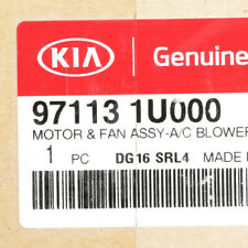 OEM Genuine Kia Front HVAC Blower Motor 11-19 Sorento 97113-1U000
