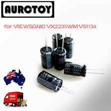 LCD Monitor Capacitors CAP Repair Kit for VIEWSONIC VS1134 VX2235WM With Solder