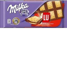 4 x Milka & LU Cookies Chocolate Alpine Milk - Biscuits NEW # free shipping