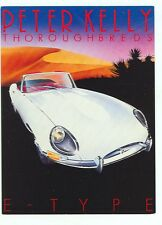 Jaguar E Type, Thoroughbreds; by Peter Kelly (autoD#10*2