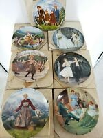 The Sound of Music Bradford Exchange Knowles Collector Plate Fine China Set of 7