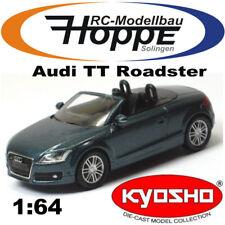 KYOSHO AUDI TT Roadster MINI COLLEZIONE 1-64 GRIGIO SCURO hop-0022