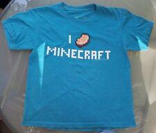 Minecraft Pico Camiseta Verde 12-13