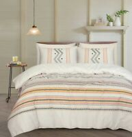 King Size Bed Duvet Doona Quilt Cover Pillowcases Set Cotton Bed Linen