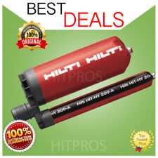 HILTI HIT-HY 200-A INJECTABLE MORTAR, 2 PACK, BRAND NEW, FREE MUG, FAST SHIPPING