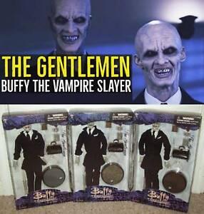 "The Gentlemen Buffy Vampire Slayer Full Set 12"" Figures Sideshow Hush Toy Doll"