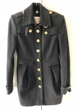 BURBERRY Wool Blend Military Coat, Like new, Fit US 0/2