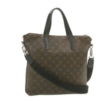 LOUIS VUITTON Monogram Macassar Kitan 2Way Hand Bag M40388 LV Auth yt003