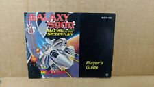 Galaxy 5000 Nintendo Instruction Manual Booklet NES Only NO GAME NICE!