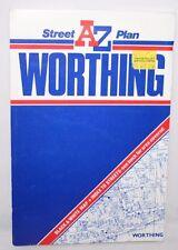AZ Street Plan - Worthing- 1980