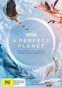 A Perfect Planet BBC David Attenborough BRAND NEW Region 4 DVD