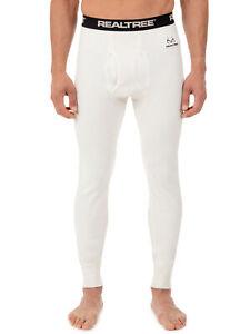 Realtree Men's Cotton Rachel Thermal Underwear Bottom Size XL/XG 40-42 (R-L)