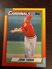 1990 Topps Traded John Tudor St Louis Cardinals 124T