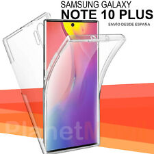 Samsung Galaxy Note 10 Plus Funda Doble Carcasa 360 2 CARAS antigolpes integral