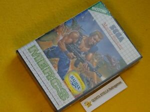 MERCS Sega Master System EUROPEAN VERSION PAL NEW FACTORY SEALED VERY RARE