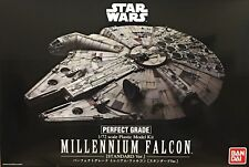 Star Wars Perfect Grade Millennium Falcon 1/72 Scale Plastic Model Kit US Seller