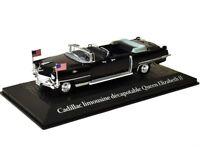 Model car DieCast Presidential Car 1959 Cadillac Queen Elizabeth II 1/43 metal