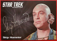 STAR TREK TOS 50th, SKIP HOMEIER as Dr Sevrin EXTREMELY LIMITED Autograph Card