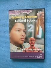 Exploring Creation with General Science on CD-ROM 2nd Edition by Wile Homeschool