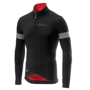 castelli NELMEZZO RoS JERSEY Men's  BLACK/RED 4518510