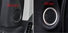 Front Door Speaker Frame Cover Trim Chrome for Land Rover Freelander 2 2011-2015