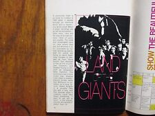 1968 FALL PREVIEW TV Guide(LAND OF THE GIANTS/HERE COME THE BRIDES/HAWAII FIVE-O