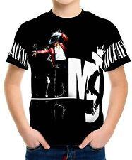 New Michael Jackson Boys Kids T-Shirt Tee Size 3 4 6 8 10 12
