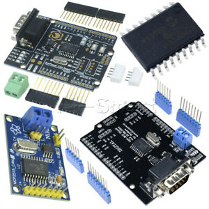 MCP2515 TJA1050 EF02037 CAN Bus Receiver Shield SPI Controller IC for Arduino