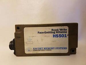 Escort Mémoire Systems HS501 Lire / Écrire Face-Emitting Antenne, Ems, Datalogic