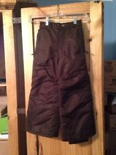 Girls Cherokee Dark Brown Snow Ski Pants Size XS (4/5)