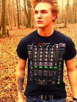 Worn AUDIO COUNCIL Black 100% Cotton Size M T-Shirt