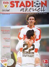 Programm UEFA Cup 2002/03 VfB Stuttgart - Celtic FC