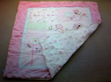 "LIVING TEXTILES ""LITTLE BRIA"" COT SHEET SET / USED AS GOOD IN CONDITION"