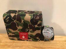 Swatch X Bape Tokyo Gray Camo Watch